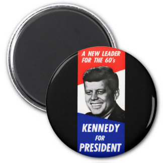 Kennedy Presidential Campaign 1960 2 Inch Round Magnet