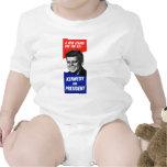 Kennedy Presidential Campaign 1960 Baby Bodysuit