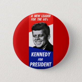 Kennedy Presidential Campaign 1960 Button