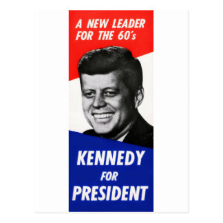 Kennedy Presidential Campaign 1960 Postcard