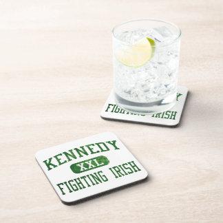 Kennedy que lucha el atletismo irlandés posavasos de bebida