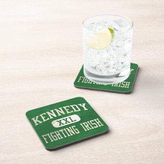 Kennedy que lucha el atletismo irlandés posavasos de bebidas