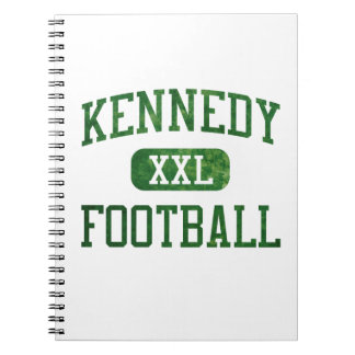 Kennedy que lucha fútbol irlandés libro de apuntes
