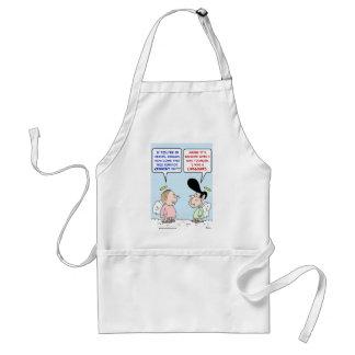 kennedy reagan lifeguard chappaquidick adult apron