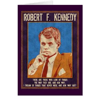 "Kennedy, Robert - ""Why Not?"" Card"