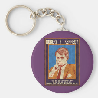 "Kennedy, Robert - ""Why Not?"" Keychain"