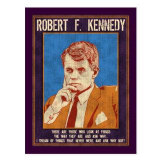 """¿Kennedy, Roberto - """"por qué no? """" Postal"""