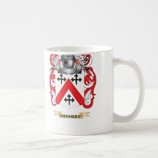 Kennedy-(Scottish) Coat of Arms (Family Crest) Classic White Coffee Mug