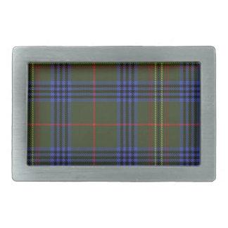 Kennedy Scottish Tartan Belt Buckle