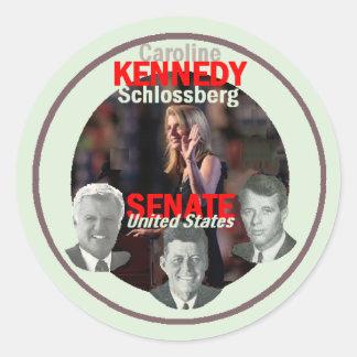 KENNEDY Senate Sticker
