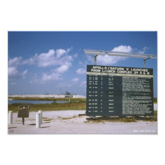 Kennedy Space Center, 1973 Launch Sign