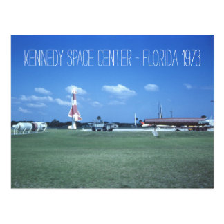 Kennedy Space Center 1973 Vintage Inspired Postcards