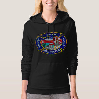 Kennedy Space Center Fire Rescue Hooded Pullovers