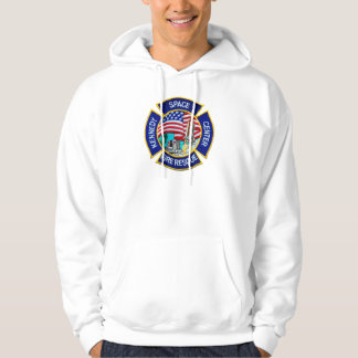 Kennedy Space Center Fire Rescue Hoodies