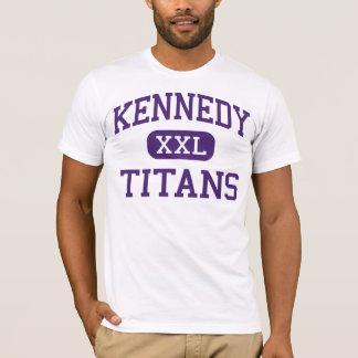Kennedy - titanes - alto - Fremont California Playera