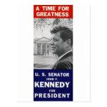 Kennedy - una época para la grandeza postales
