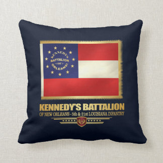 Kennedy's Battalion of New Orleans Throw Pillow
