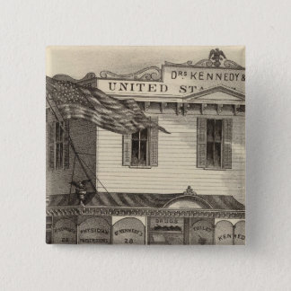 Kennedy's United States Pharmacy, Cape May City Pinback Button