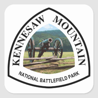 Kennesaw Mountain National Battlefield Park Square Sticker