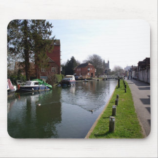 Kennet and Avon canal at Newbury Mouse Pad