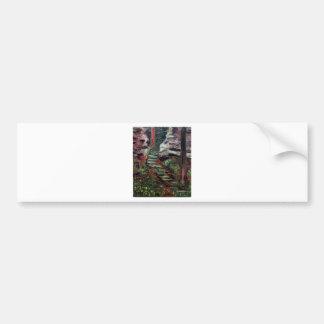 Kenneth_Cobb_landscapesketch_2001_OilonBoard_9inx1 Bumper Sticker