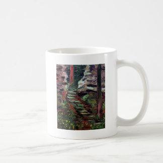 Kenneth_Cobb_landscapesketch_2001_OilonBoard_9inx1 Coffee Mug