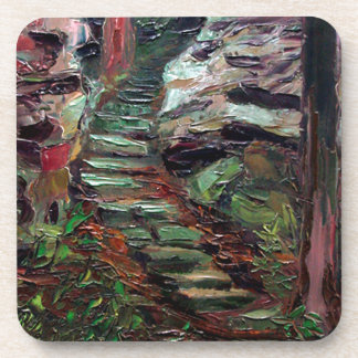 Kenneth_Cobb_landscapesketch_2001_OilonBoard_9inx1 Coaster
