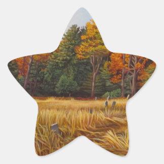 KennethCobb_Fallbrook_2012_OilonCanvas_24x36in_8_3 Star Sticker