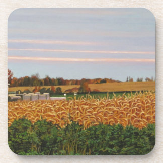 KennethCobb_Giant_2012_OilonCanvas_18x30in_8_300dp Beverage Coasters