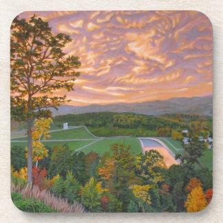 KennethCobb_WelcomeCenter_2012_OilonCanvas_24x30in Coasters