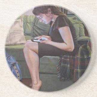 Kennneth_Cobb_Lapse_2013_OilonCanvas_36x30in_300dp Drink Coasters