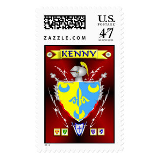 KENNY FAMILY CREST POSTAGE