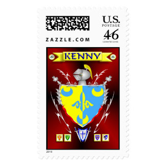 KENNY FAMILY CREST STAMP