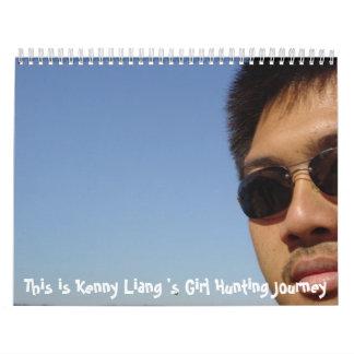 Kenny liang calendarios de pared