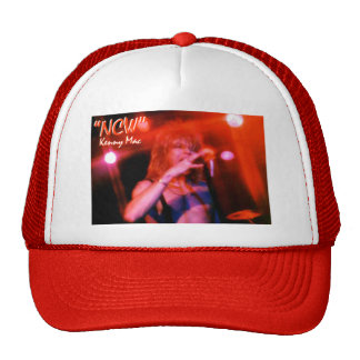 "Kenny Mac Live RED Truckers Hat w ""NCW"""
