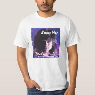 "Kenny Mac ""New Cool World"" CD tag White T Shirt"