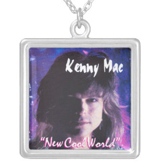 Kenny Mac New Cool World Cover Square Necklace