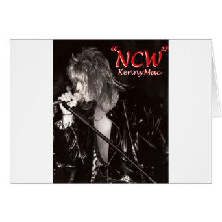 """Kenny Mac Singer """"NCW"""" Card"""