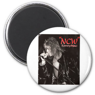 "Kenny Mac Singer ""NCW"" Magnet"