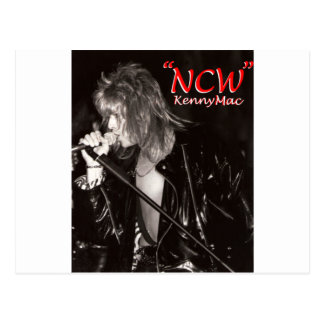 """Kenny Mac Singer """"NCW"""" Postcard"""