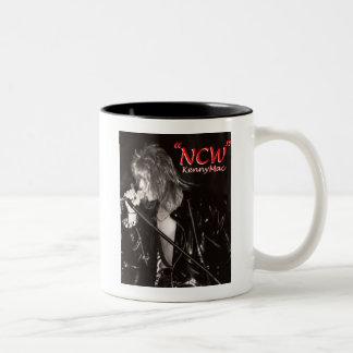 """Kenny Mac Singer """"NCW"""" Two-Tone Coffee Mug"""