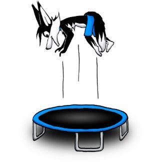 Kenny on trampoline cutout