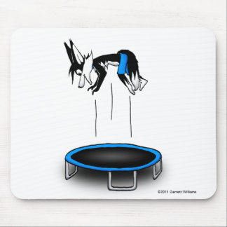 Kenny on Trampoline Mouse Pad