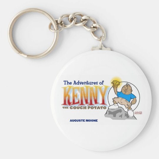 Kenny the Couch Potato Keychain