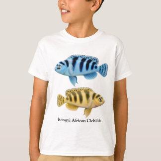 Kennyi African Cichlids Kids T-Shirt