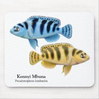 Kennyi African Cichlids Mousepad