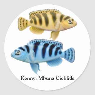 Kennyi African Rift Lake Cichlids Sticker