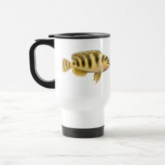 Kennyi Pseudotropheus Cichlid Travel Mug