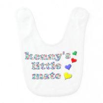 Kenny's Mate Patchwork Pattern Baby Bib