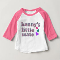 Kenny's Mate Patchwork Pattern Baby's Top
